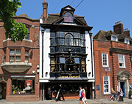 The Three Pigeons in Staines, Surrey